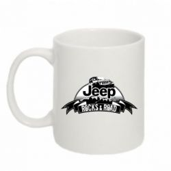 Кружка 320ml Jeep rocks
