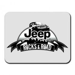 Коврик для мыши Jeep rocks