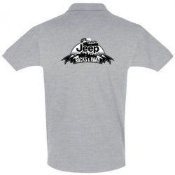 Мужская футболка поло Jeep rocks