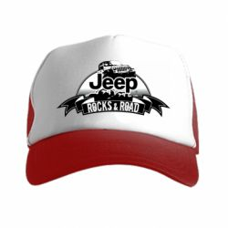 Кепка-тракер Jeep rocks