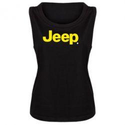 Женская майка Jeep - FatLine