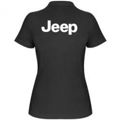 Женская футболка поло Jeep - FatLine