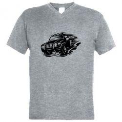 Чоловіча футболка з V-подібним вирізом Jeep