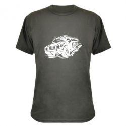 Камуфляжна футболка Jeep