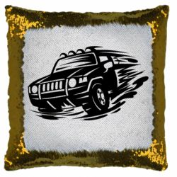 Подушка-хамелеон Jeep