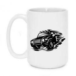 Кружка 420ml Jeep