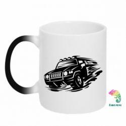 Кружка-хамелеон Jeep