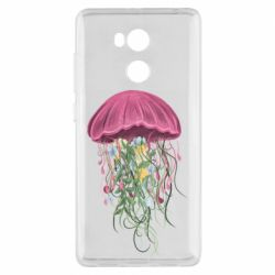 Чехол для Xiaomi Redmi 4 Pro/Prime Jellyfish and flowers