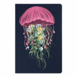Блокнот А5 Jellyfish and flowers