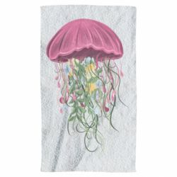 Полотенце Jellyfish and flowers