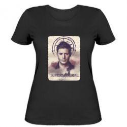 Женская футболка Jensen Ackles - FatLine