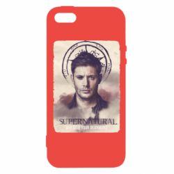 Чохол для iphone 5/5S/SE Jensen Ackles