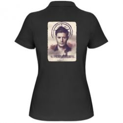Женская футболка поло Jensen Ackles - FatLine