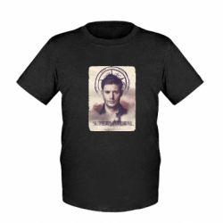 Детская футболка Jensen Ackles - FatLine