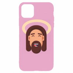 Чехол для iPhone 11 Pro Jesus flat vector