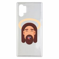 Чехол для Samsung Note 10 Plus Jesus flat vector