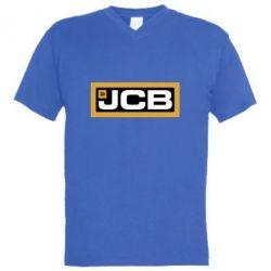 Чоловіча футболка з V-подібним вирізом Jgb logo2