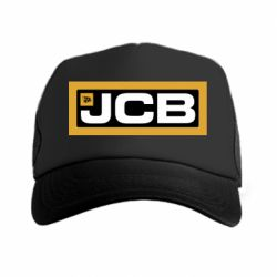 Кепка-тракер Jgb logo2