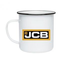 Кружка емальована Jgb logo2