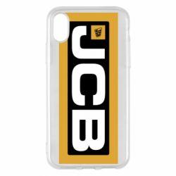 Чохол для iPhone X/Xs Jgb logo2