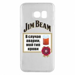 Чохол для Samsung S6 EDGE Jim beam accident