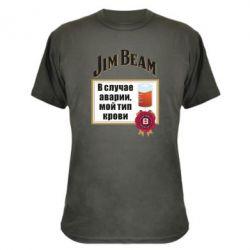 Камуфляжна футболка Jim beam accident