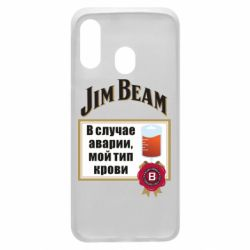 Чохол для Samsung A40 Jim beam accident