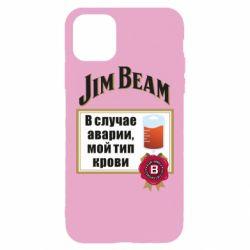 Чохол для iPhone 11 Pro Max Jim beam accident