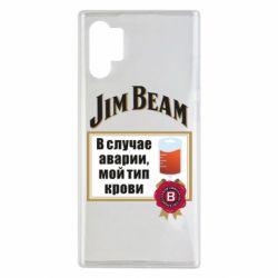 Чохол для Samsung Note 10 Plus Jim beam accident