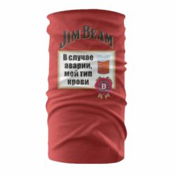 Бандана-труба Jim beam accident