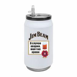 Термобанка 350ml Jim beam accident