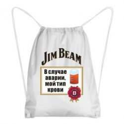 Рюкзак-мішок Jim beam accident