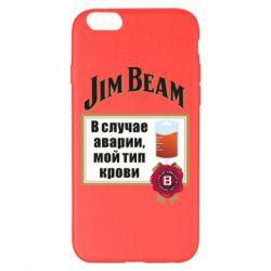 Чохол для iPhone 6 Plus/6S Plus Jim beam accident