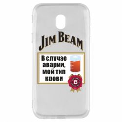 Чохол для Samsung J3 2017 Jim beam accident