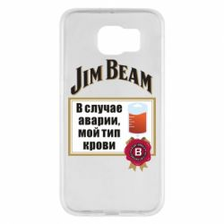 Чохол для Samsung S6 Jim beam accident