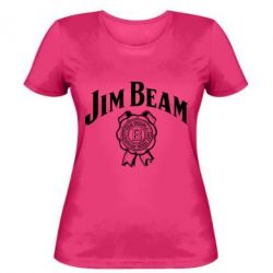 Жіноча футболка Jim Beam logo