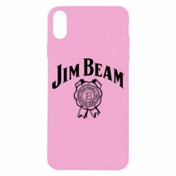 Чохол для iPhone X/Xs Jim Beam logo
