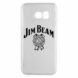 Чохол для Samsung S6 EDGE Jim Beam logo