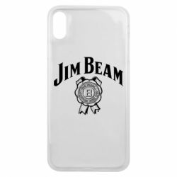 Чохол для iPhone Xs Max Jim Beam logo