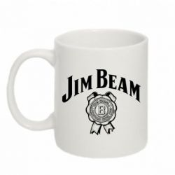 Кружка 320ml Jim Beam logo