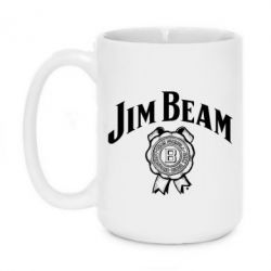 Кружка 420ml Jim Beam logo