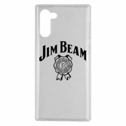 Чохол для Samsung Note 10 Jim Beam logo
