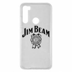 Чохол для Xiaomi Redmi Note 8 Jim Beam logo