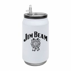 Термобанка 350ml Jim Beam logo