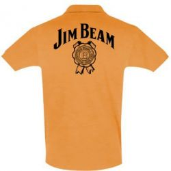 Футболка Поло Jim Beam logo