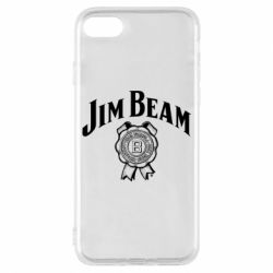 Чохол для iPhone 7 Jim Beam logo