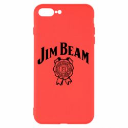 Чохол для iPhone 8 Plus Jim Beam logo