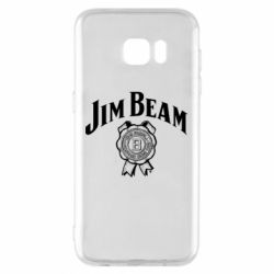 Чохол для Samsung S7 EDGE Jim Beam logo