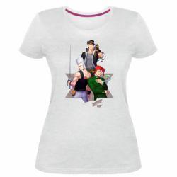 Жіноча стрейчева футболка Joe Joe