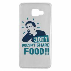 Чехол для Samsung A7 2016 Joey doesn't share food!